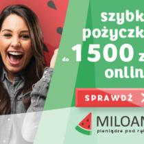 Szybka pożyczka Miloan